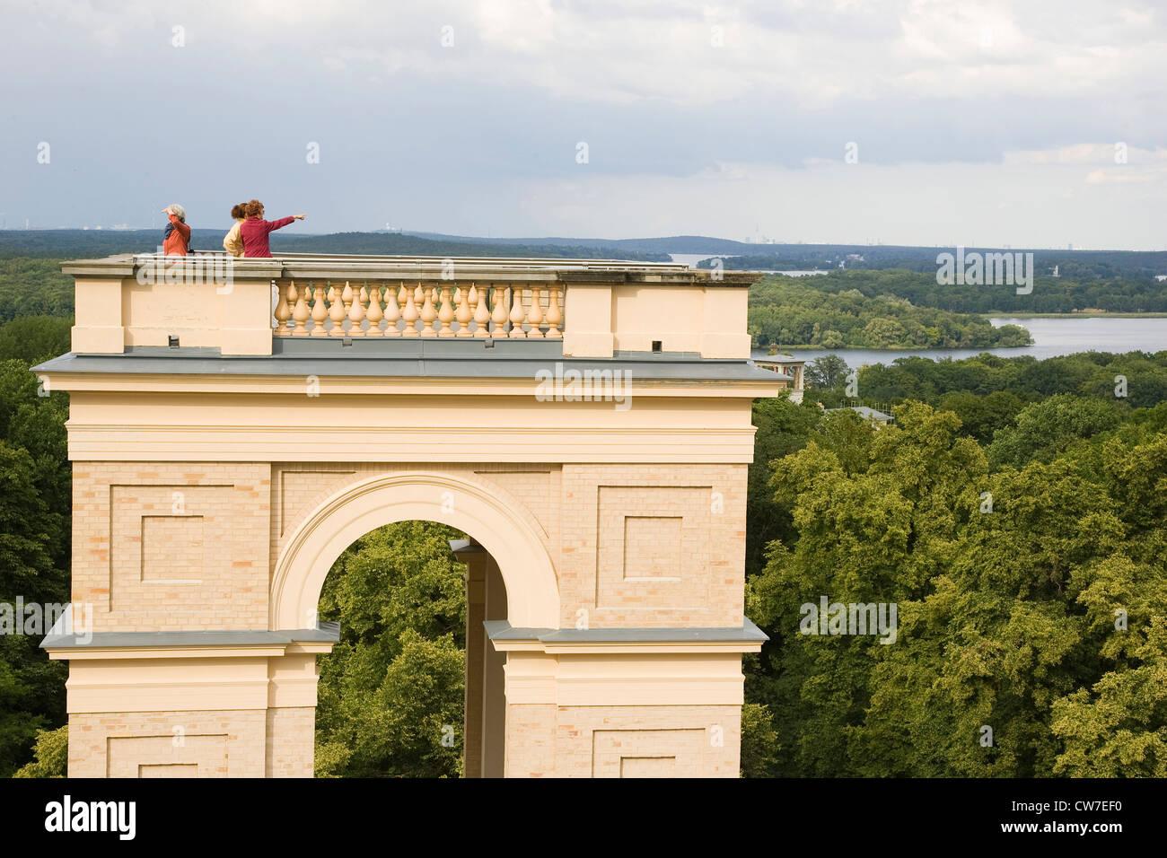 Europa, Deutschland, Brandenburg, Potsdam, Belvedere Auf Dem pfingstberg Stockbild