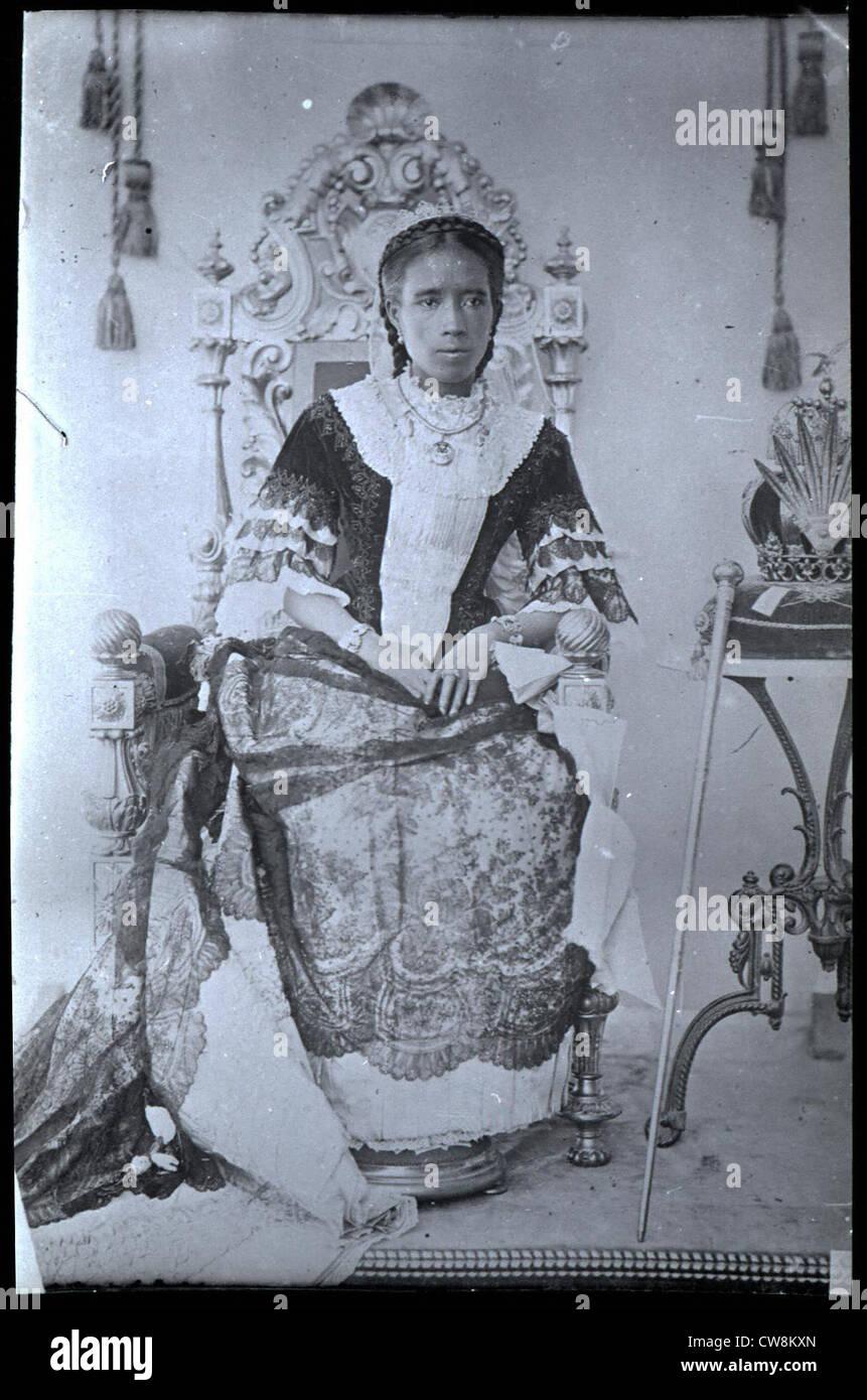 Porträts von Frauen, Madagaskar Stockbild