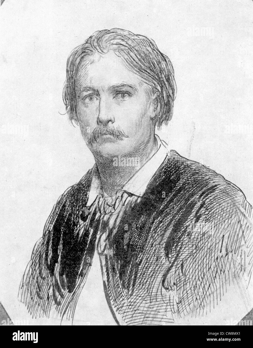 Gustave Doré, Porträts Stockbild