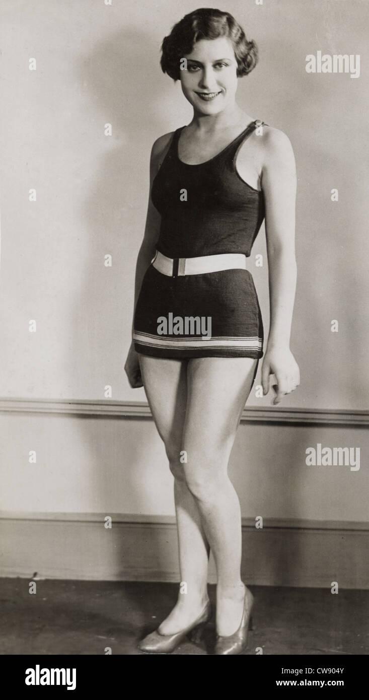 Miss Gillian Dean, englische Schauspielerin Stockbild