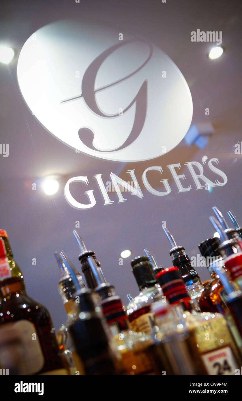 Ingwer-Bar, Newhall Street, Birmingham Stockbild