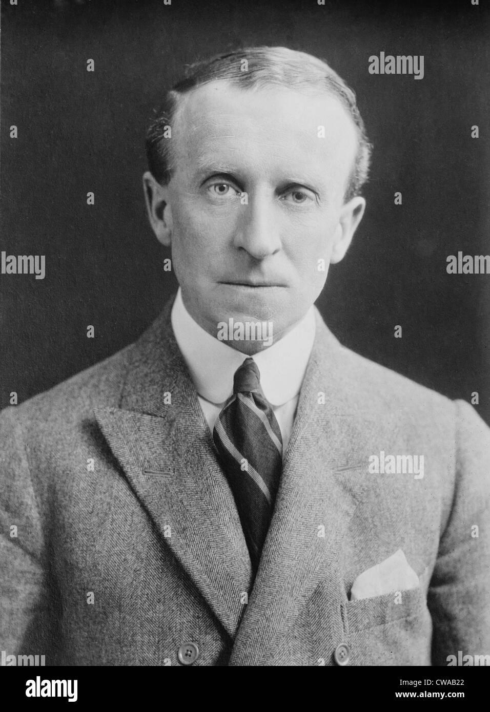 John Buchan (1875-1940) schottischen Schriftsteller über 50 Abenteuerbüchern, historische Romane und Biographien. Stockbild