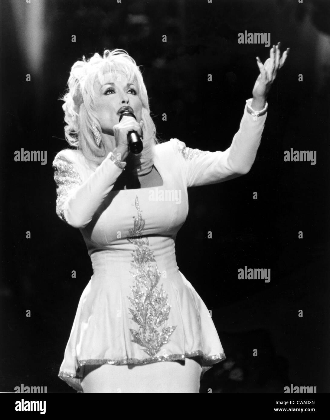 Dolly Parton, 1990er Jahre... Höflichkeit: CSU Archive / Everett Collection Stockbild
