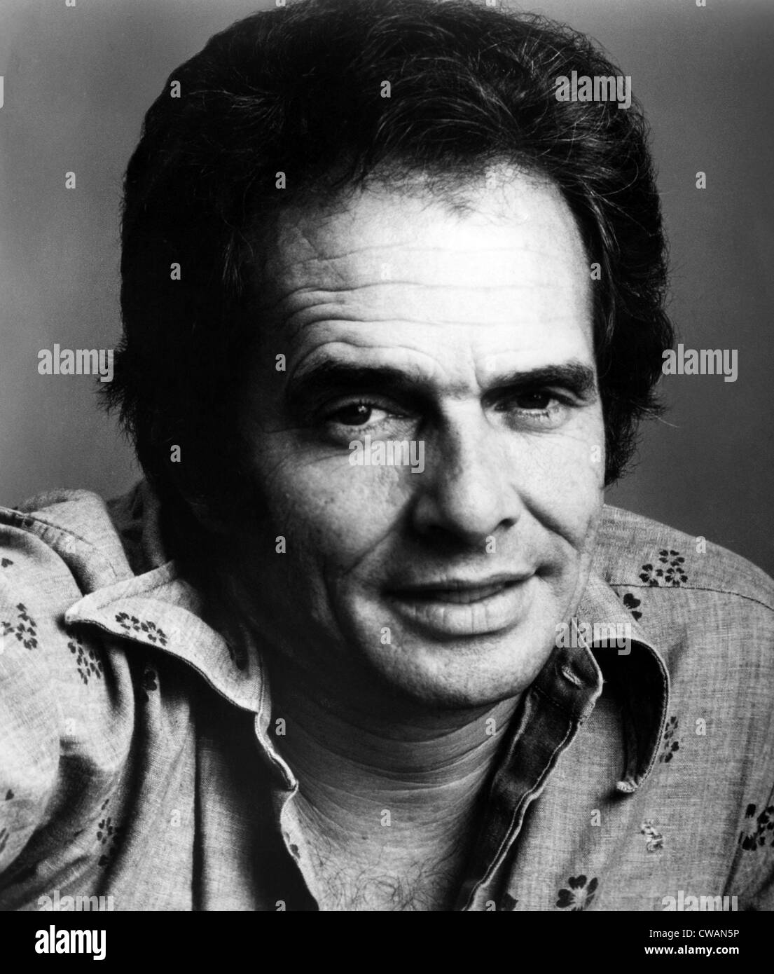 Countrysänger Merle Haggard. ca 1979. Höflichkeit: CSU Archive/Everett Collection Stockbild