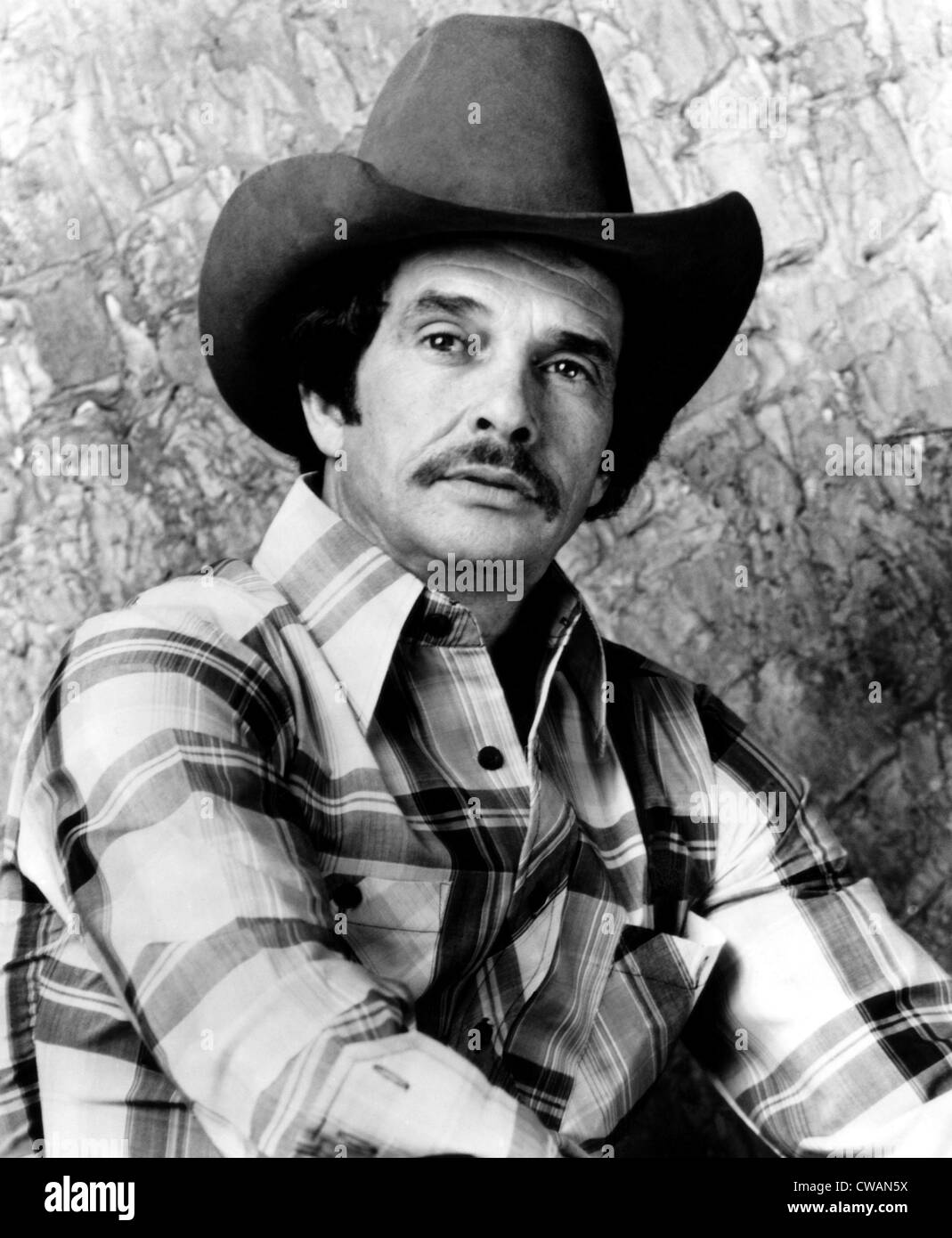 Countrysänger Merle Haggard. ca 1980. Höflichkeit: CSU Archive/Everett Collection Stockbild