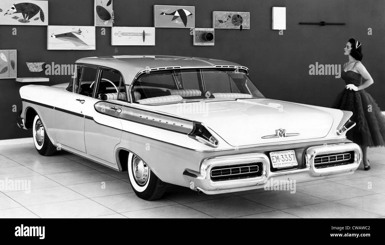 1957 Mercury Montclair. Höflichkeit: CSU Archive/Everett Collection Stockbild