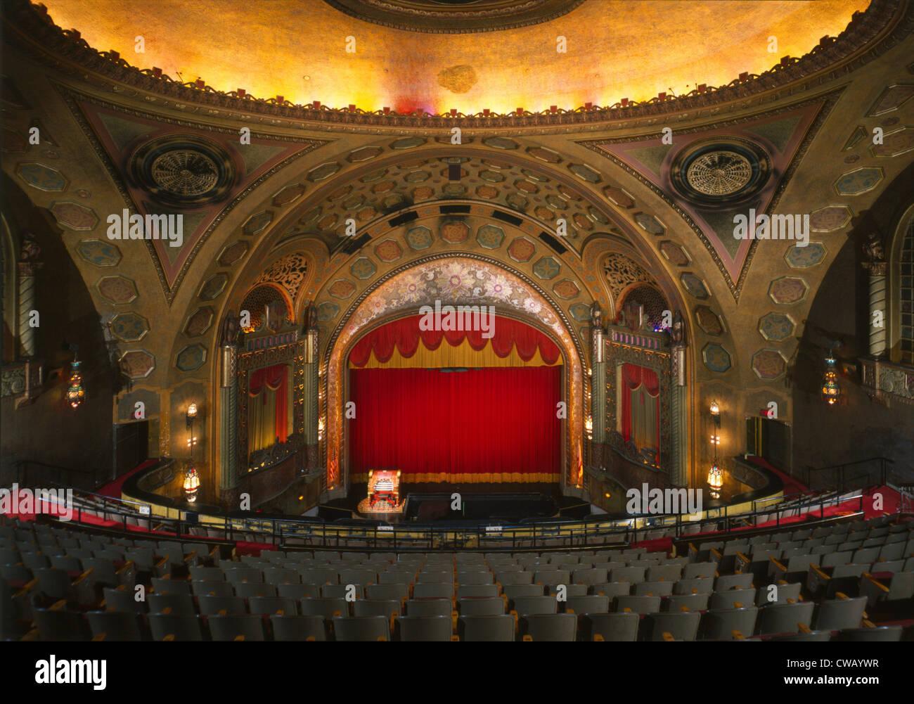 Die Alabama Theater, Birmingham, Alabama, errichtet 1927 Foto ca. 1990er Jahre. Stockbild