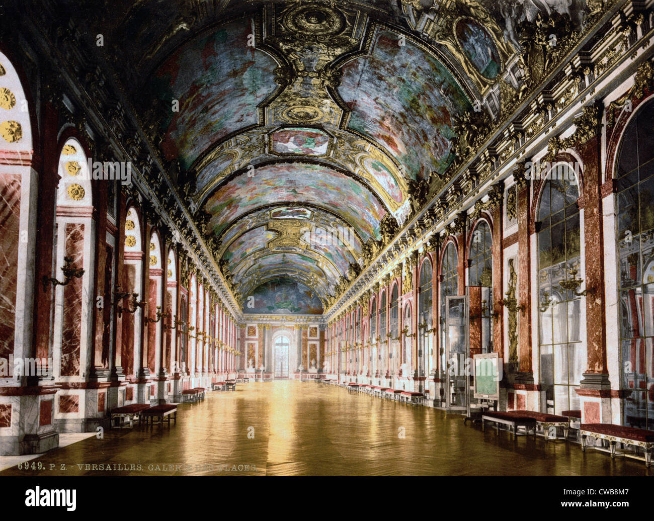 Weltkrieg Galerie Der Spiegel Schloss Versailles Frankreich Das