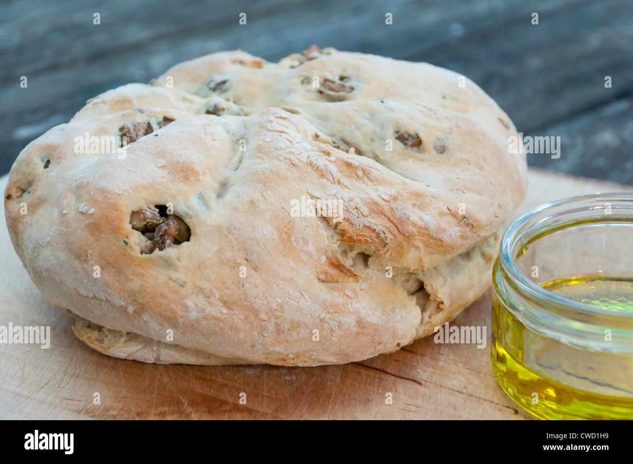 Australische Dämpfer Brot. Stockbild