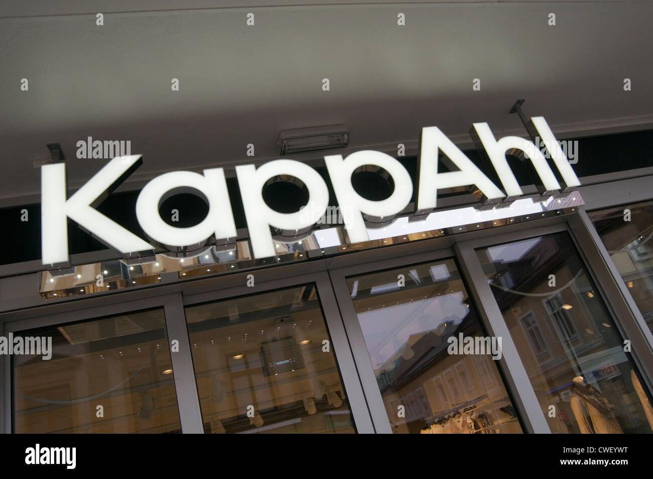 kappahl schwedische mode boutiquen einkaufen kette einzelhandel handler mode schweden