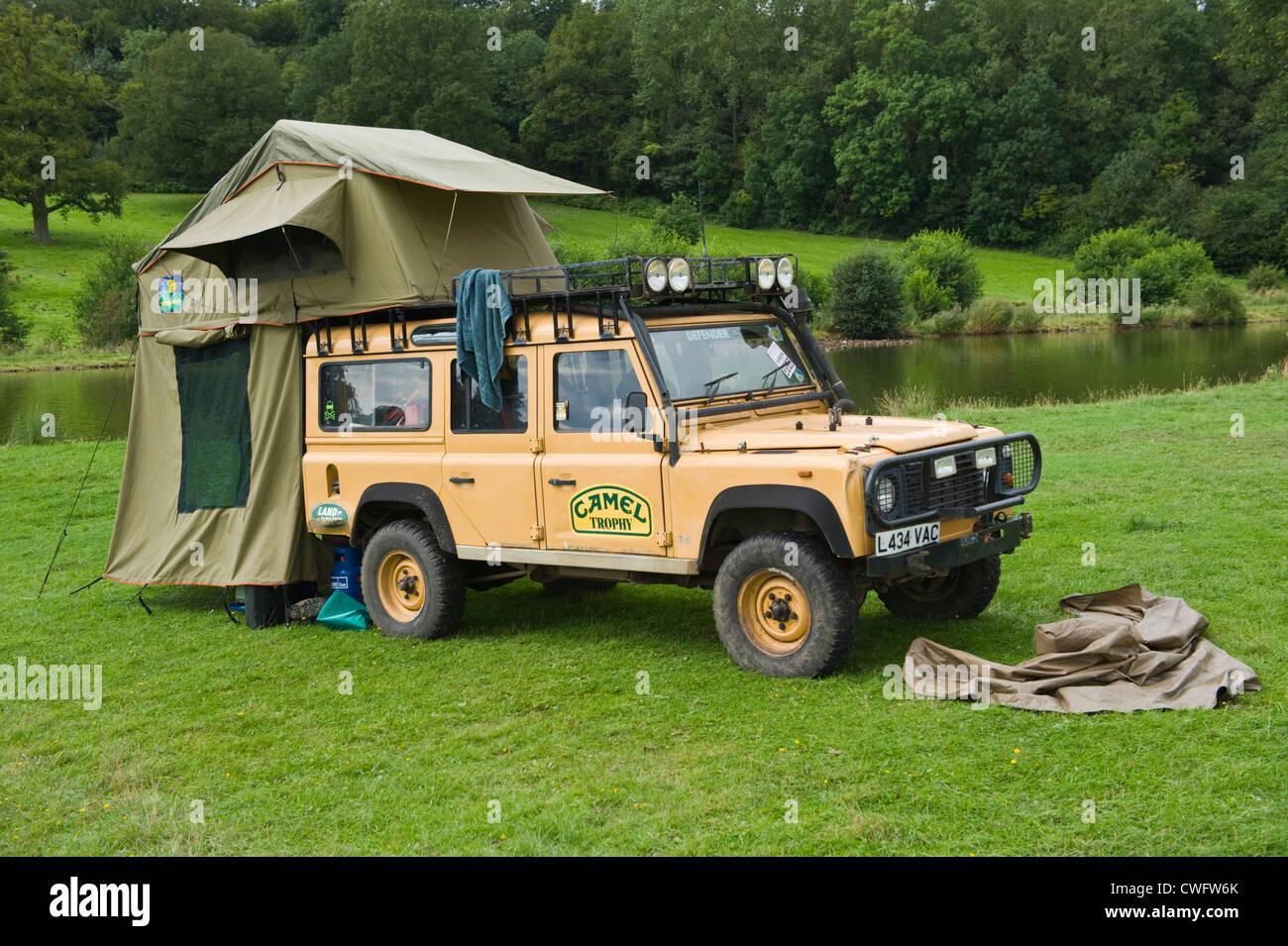 camel trophy land rover defender 110 camping am see in. Black Bedroom Furniture Sets. Home Design Ideas