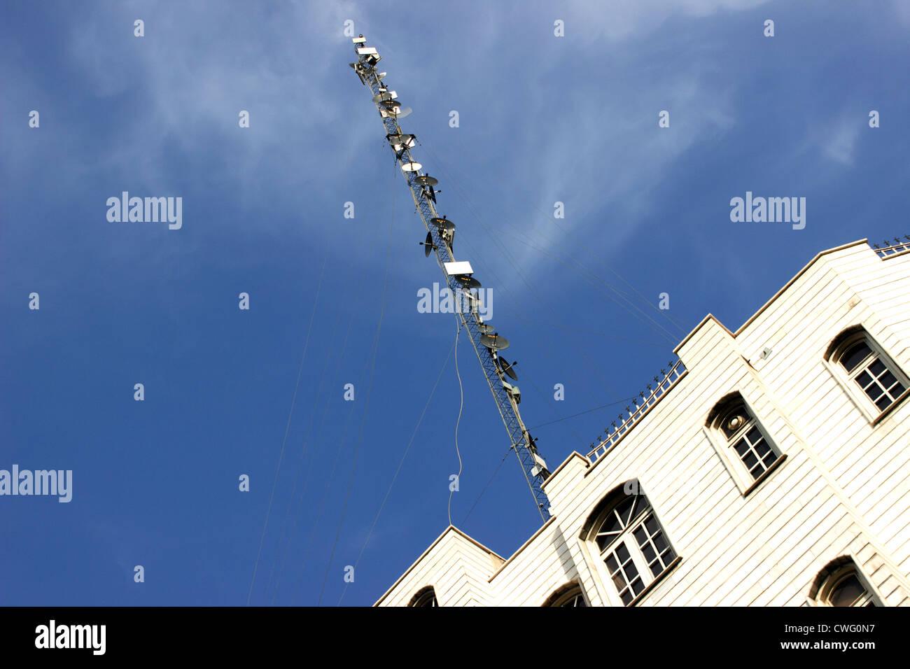 Antennen Stockbild