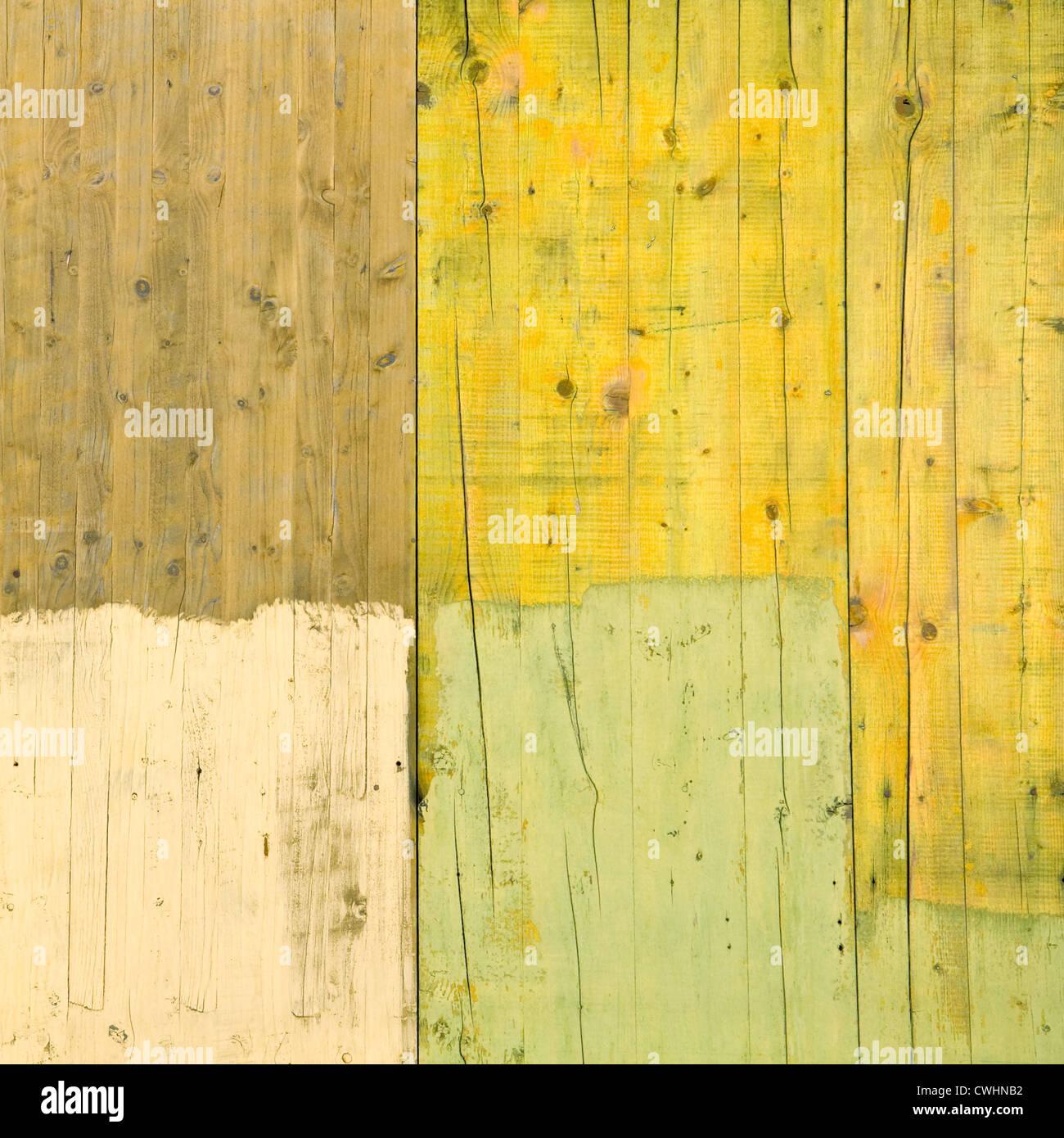 Holzwand, Wandtafeln Stockbild