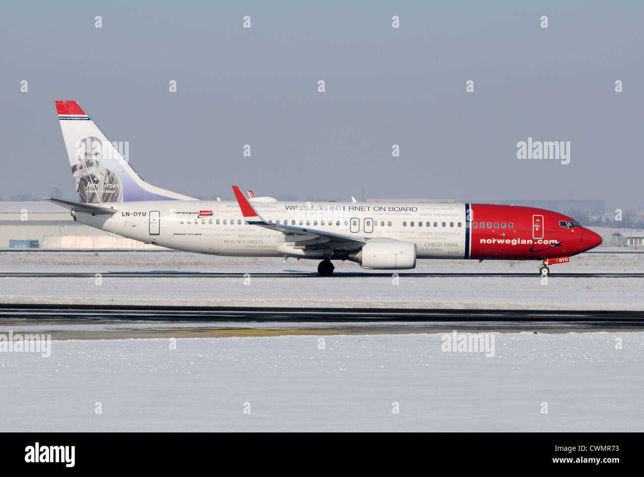 Norwegian Air Shuttle-Boeing 737-800 Stockbild