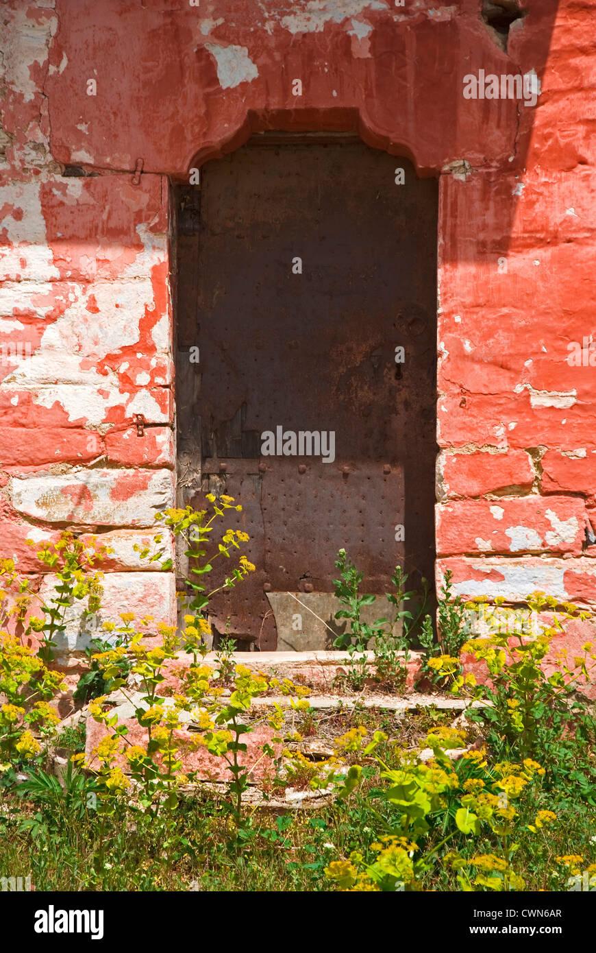 Plastered stone stockfotos plastered stone bilder alamy - Ein steinhaus wandaufbau ...