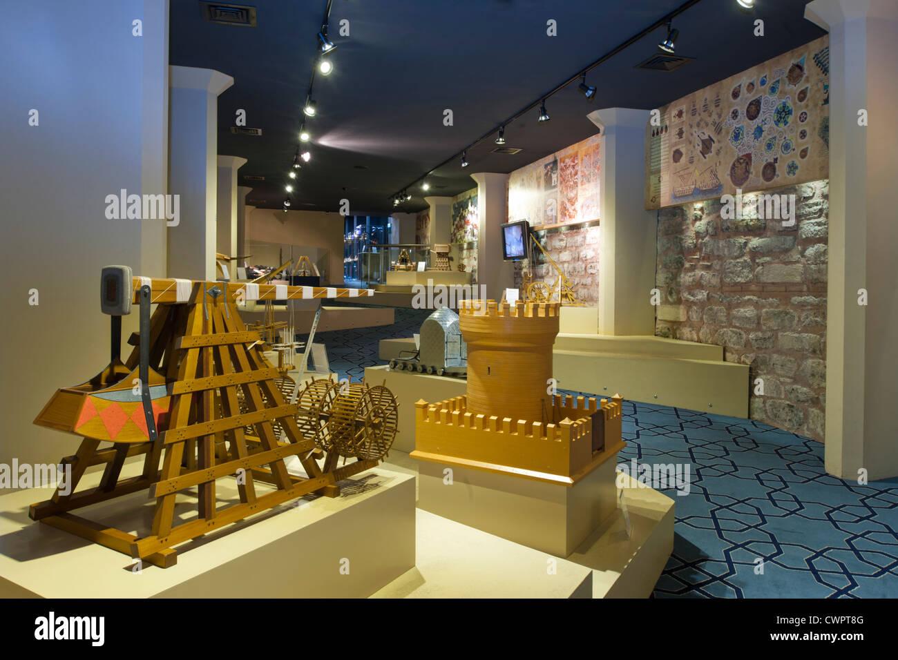 Ägypten, Istanbul, Gülhane-Park, Museum der Geschichte der Wissenschaft Und Technik Im Islam. Stockbild