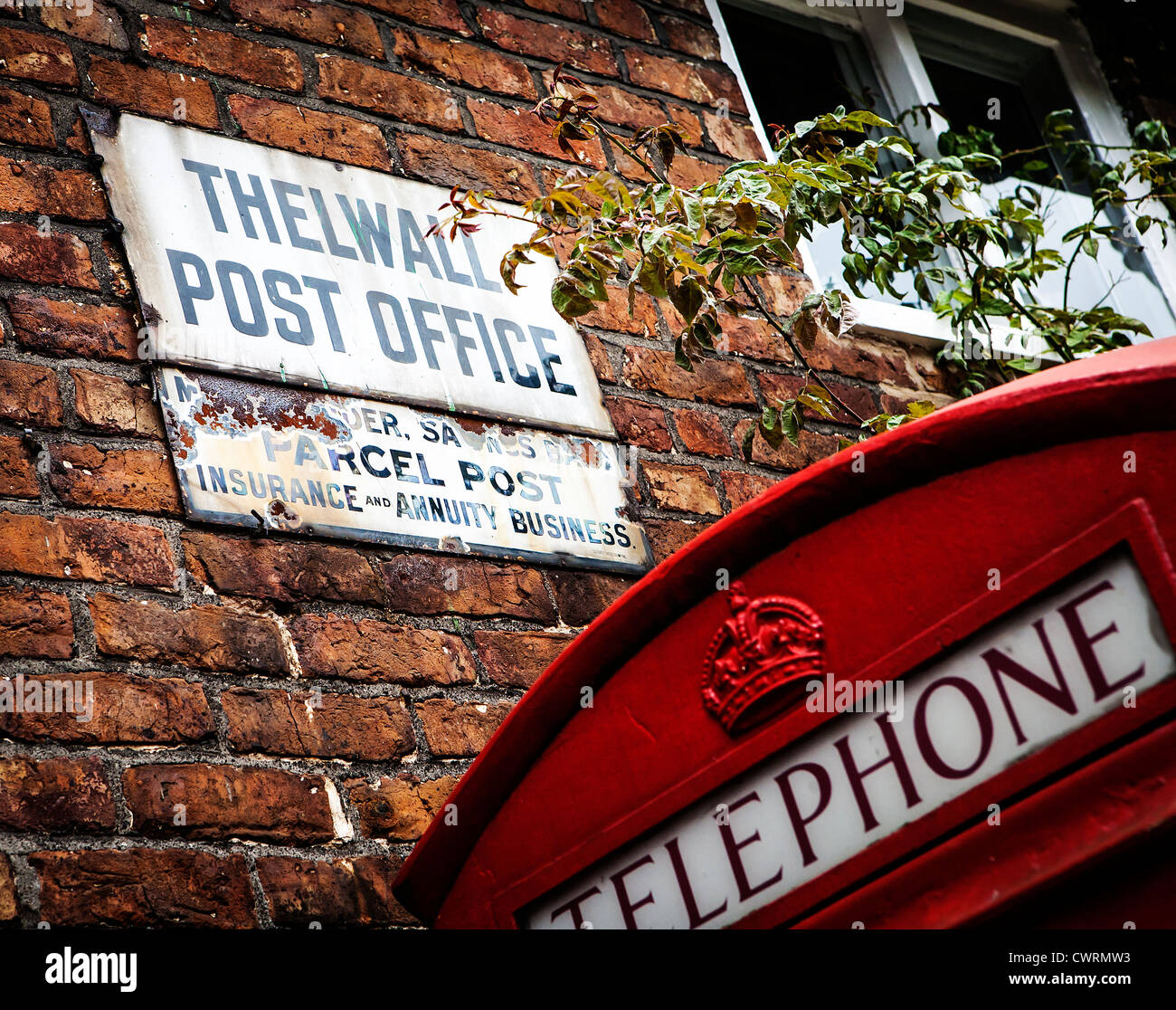 old sign outside post office stockfotos old sign outside. Black Bedroom Furniture Sets. Home Design Ideas