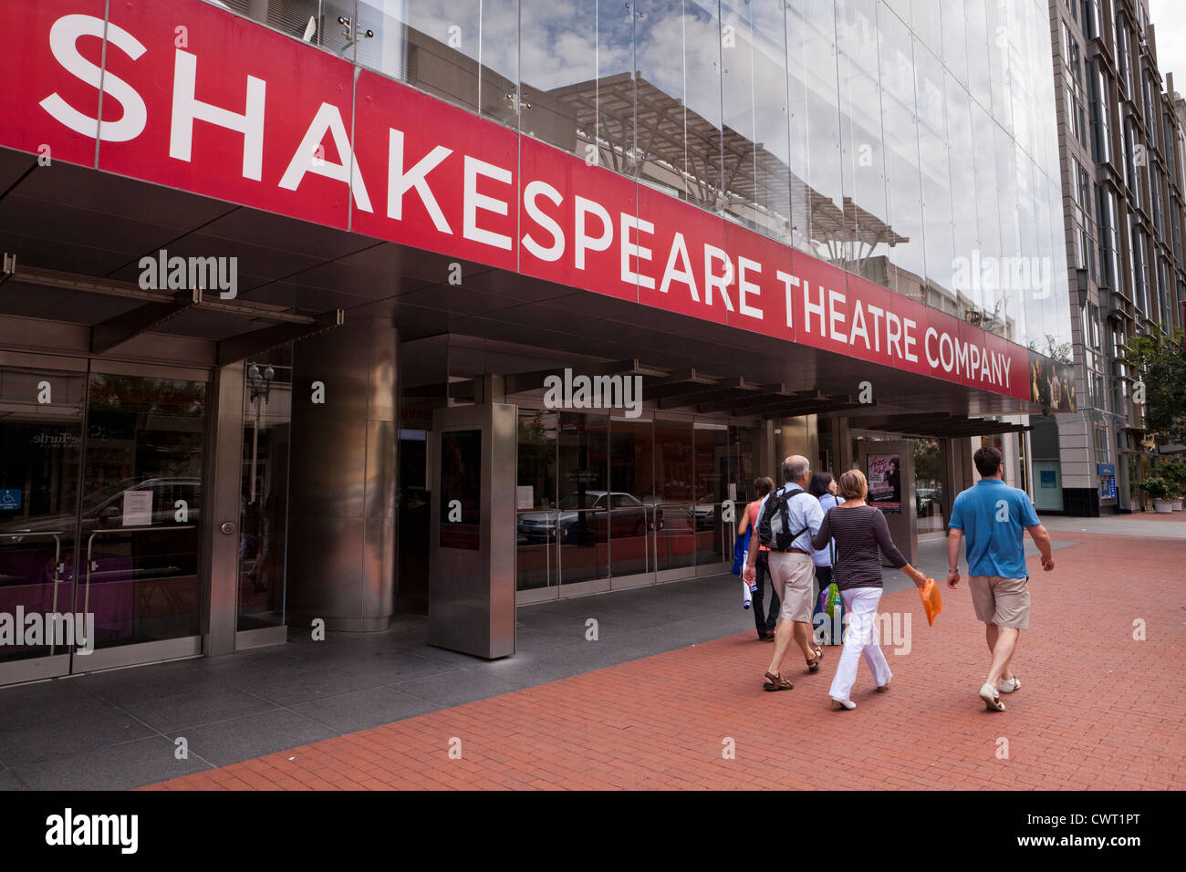 Shakespeare Theatre Company Building - Washington, DC Stockbild