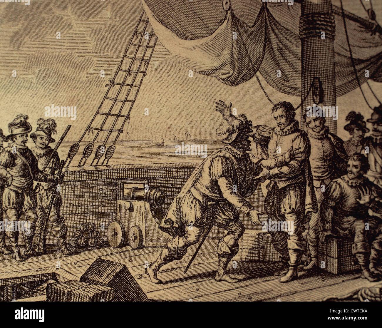 Geliebte Dritte Reise von Christoph Kolumbus. Columbus und seine Brüder #LU_68