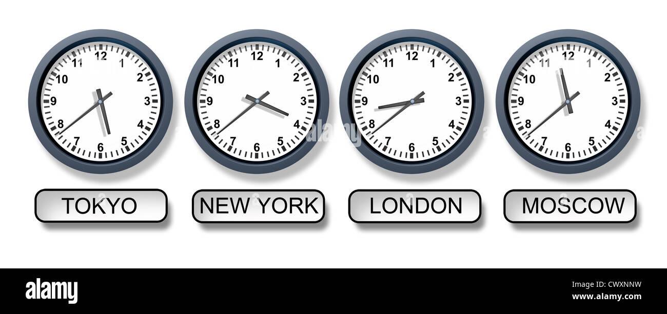 Zeitzone Moskau