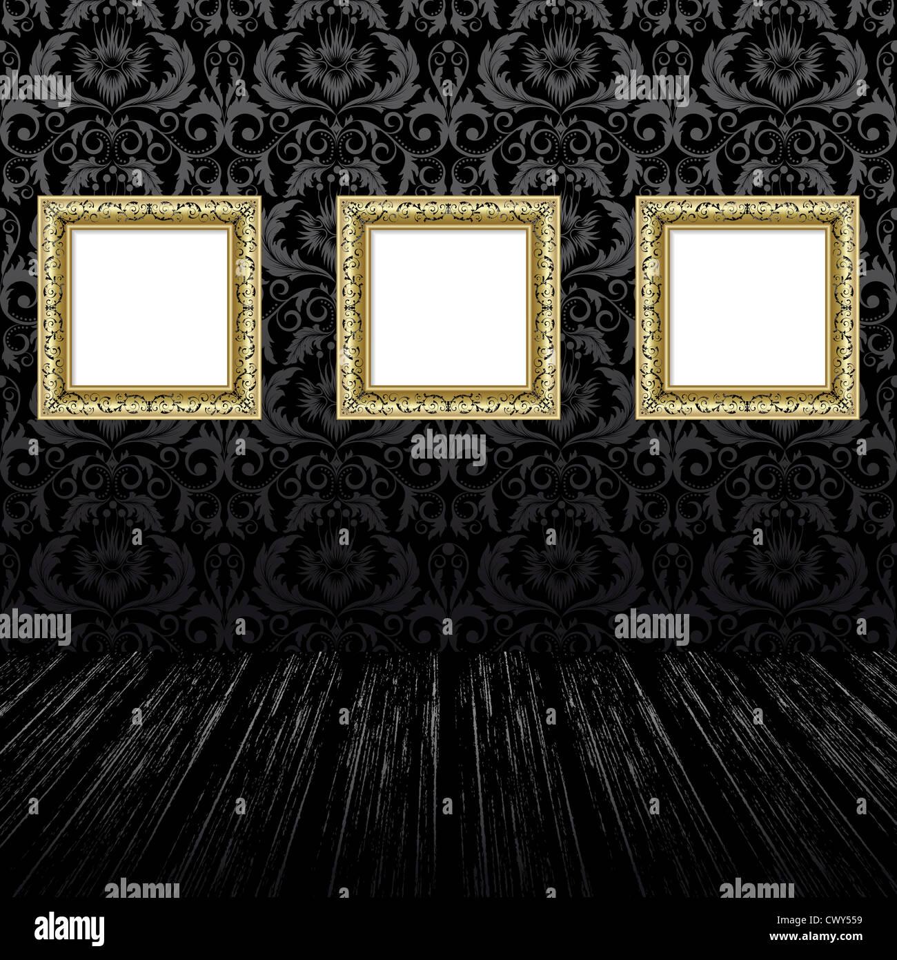 schwarze tapeten perfect rolle hochwertige vlies tapete coole retrowelle with schwarze tapeten. Black Bedroom Furniture Sets. Home Design Ideas