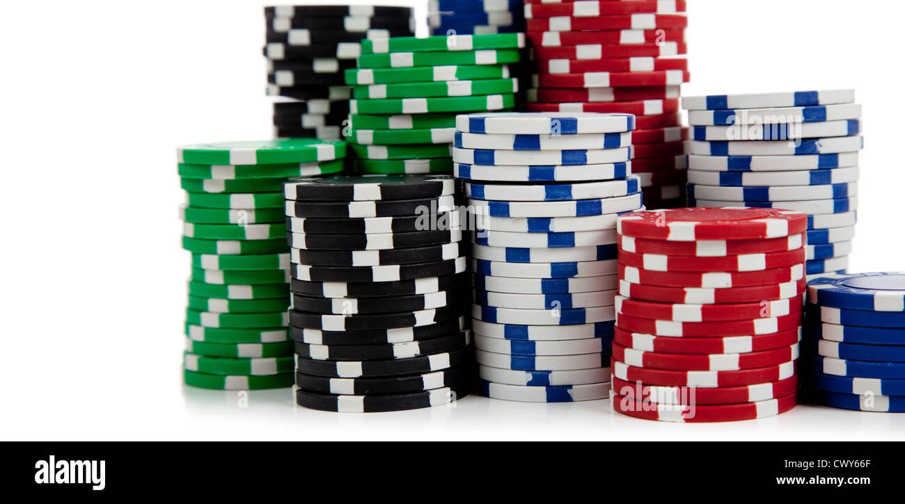 Blue Poker Chip Stockfotos Blue Poker Chip Bilder Alamy