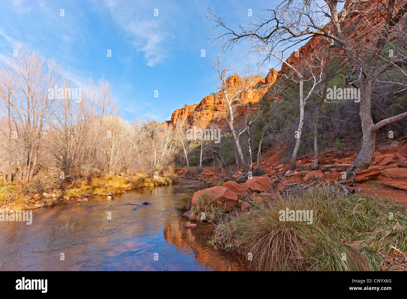 Sedona Arizona USA Stockbild