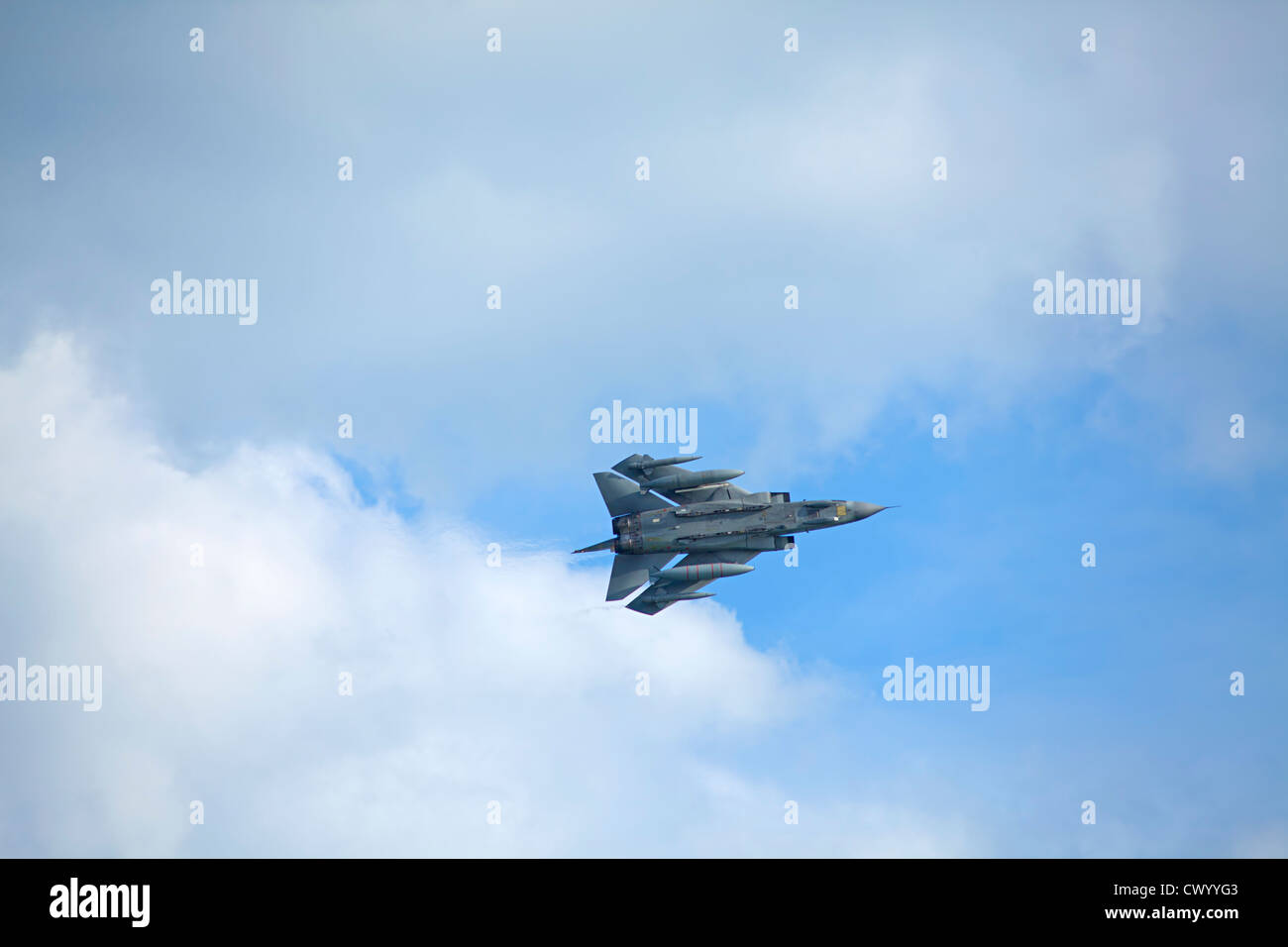 RAF Tornado in Bournemouth Airshow 2012 Stockbild