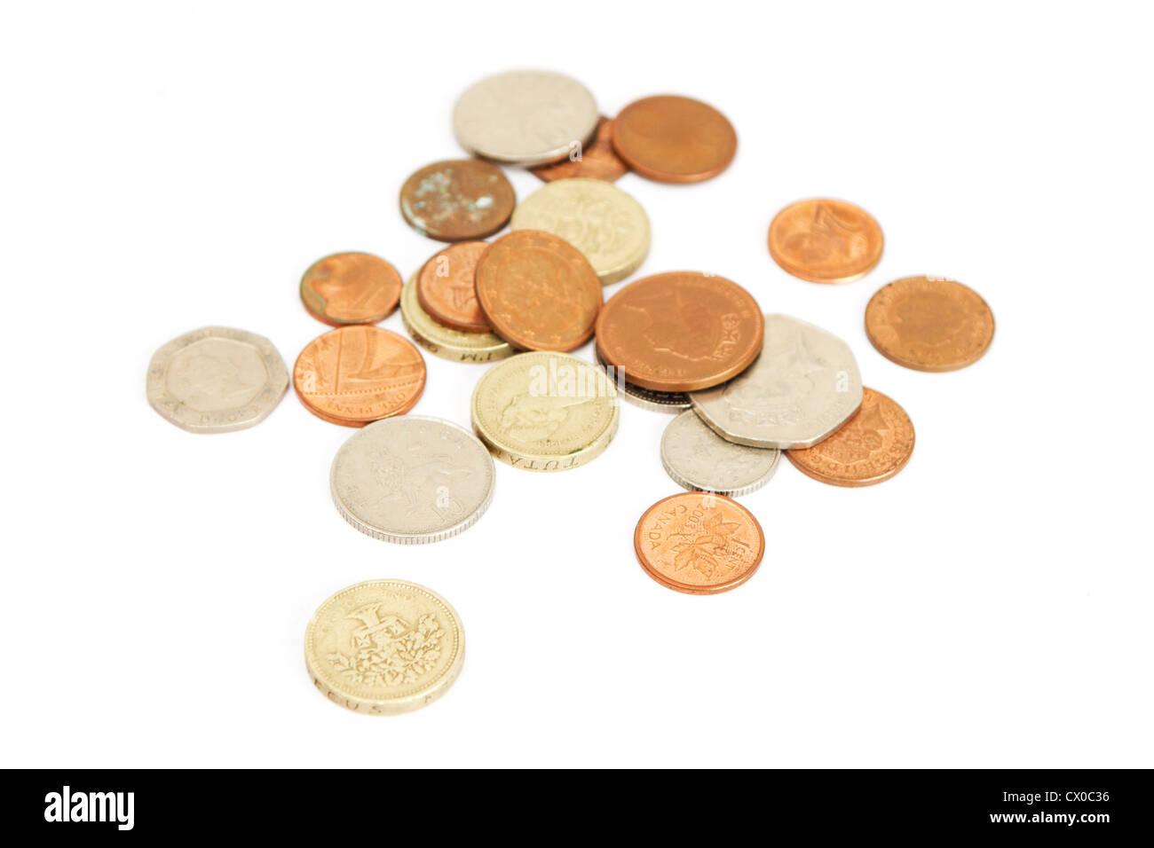 Britische Pfund Münzen Stockfoto Bild 50411290 Alamy