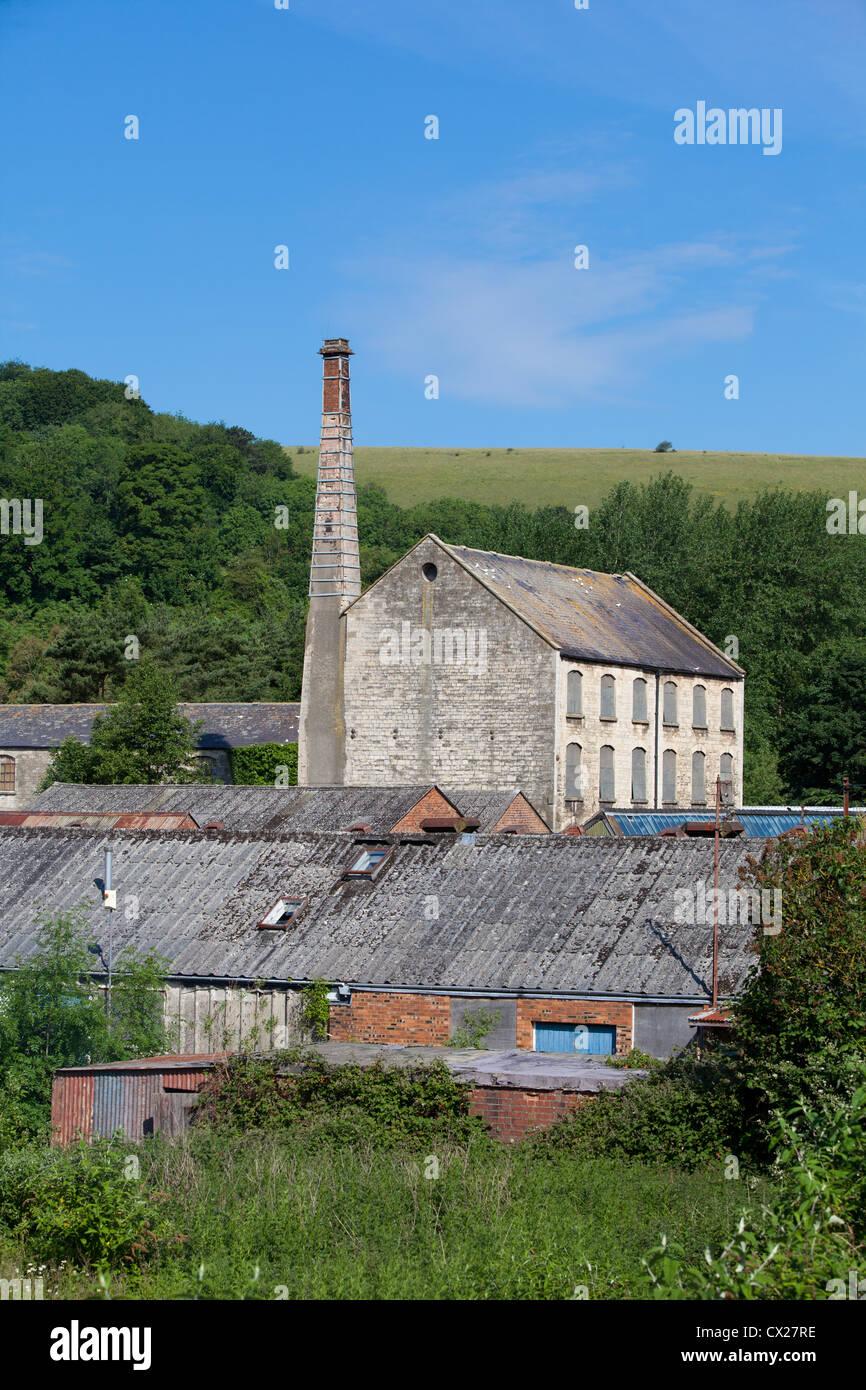 eine der alten Mühlen im Bereich stroud Stockfoto