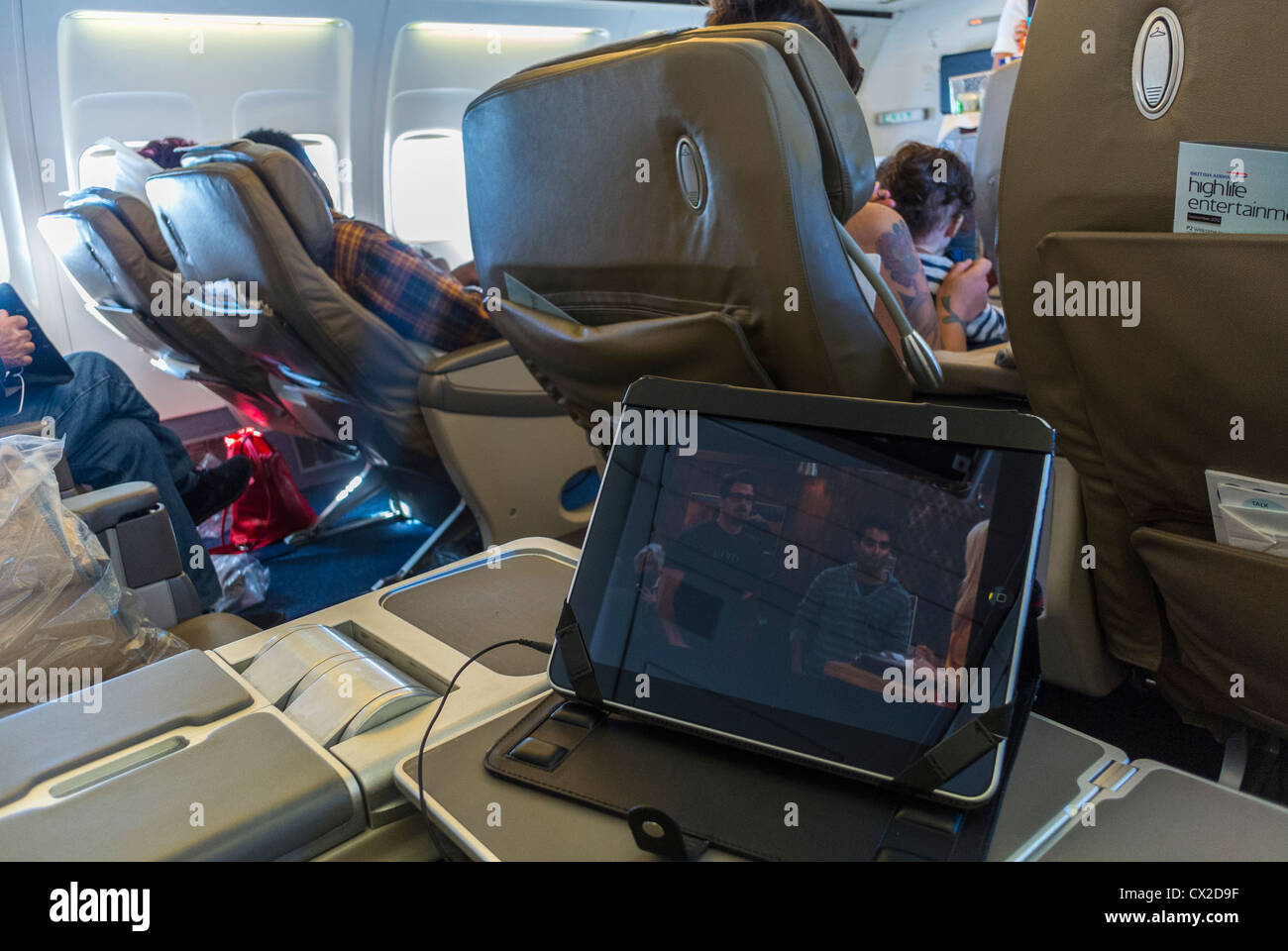 plane seats stockfotos plane seats bilder seite 20 alamy. Black Bedroom Furniture Sets. Home Design Ideas