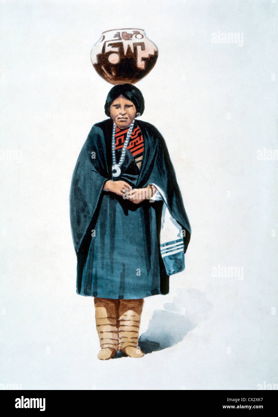 Zuni Frau