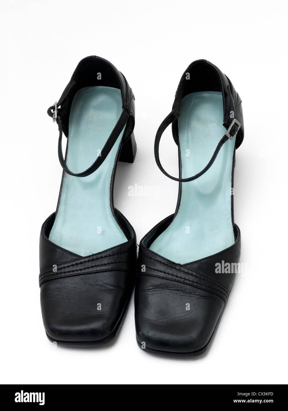 f214b2d92d27 Black Heel Shoes Stockfotos   Black Heel Shoes Bilder - Alamy