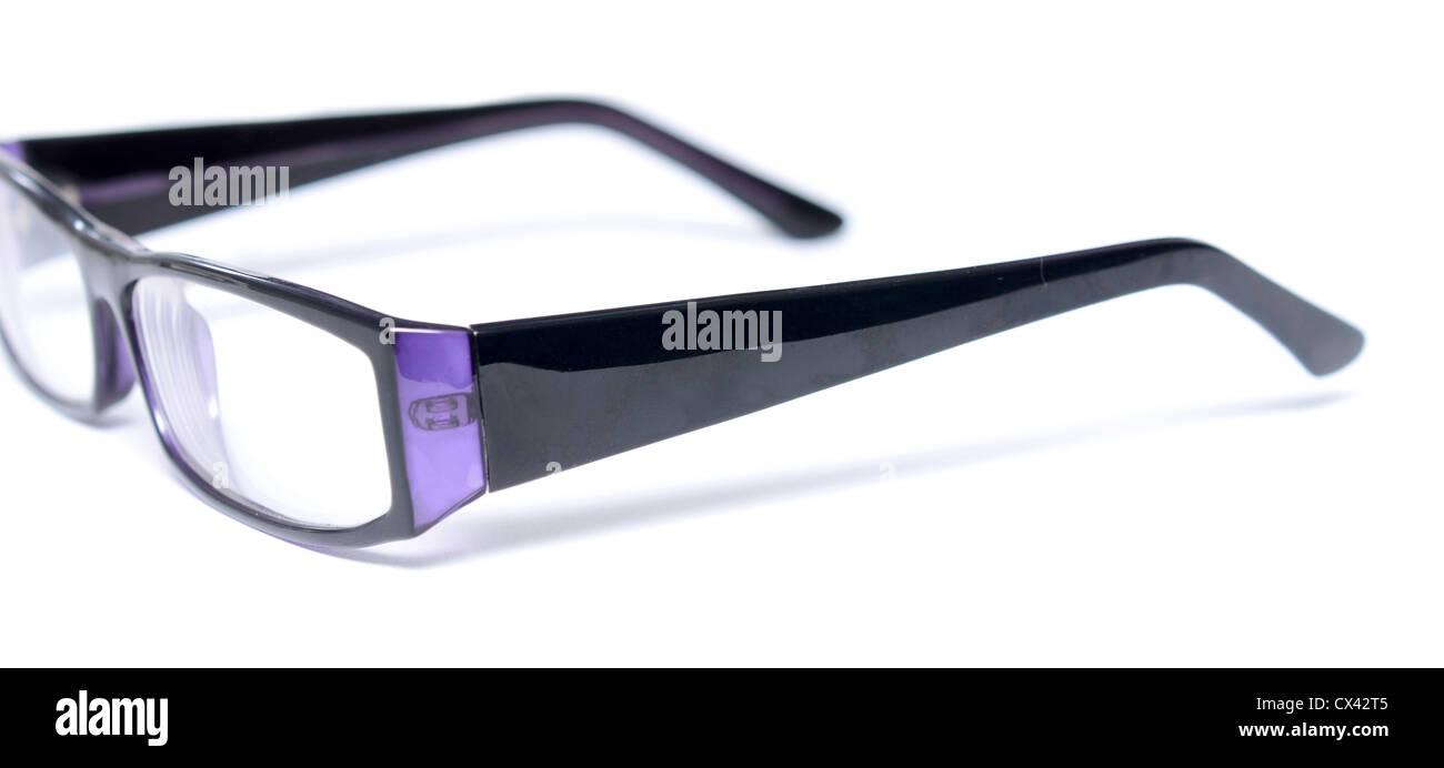 schwarze Brillen isoliert auf weiss Stockfoto, Bild: 50491845 - Alamy