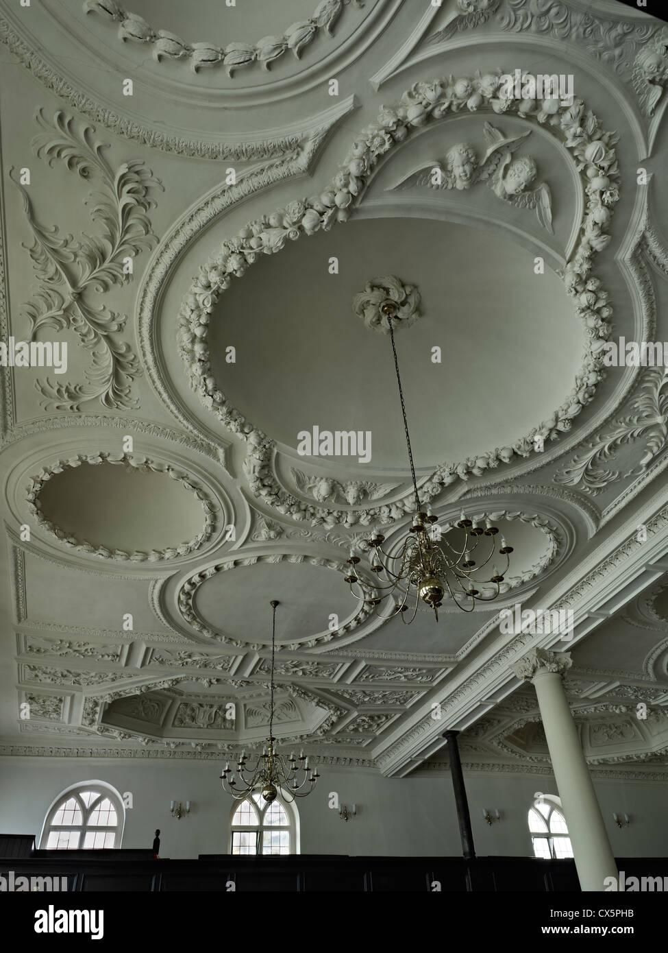 Tunbridge Wells, Kent. Decke des Königs Charles der Märtyrer Stockbild