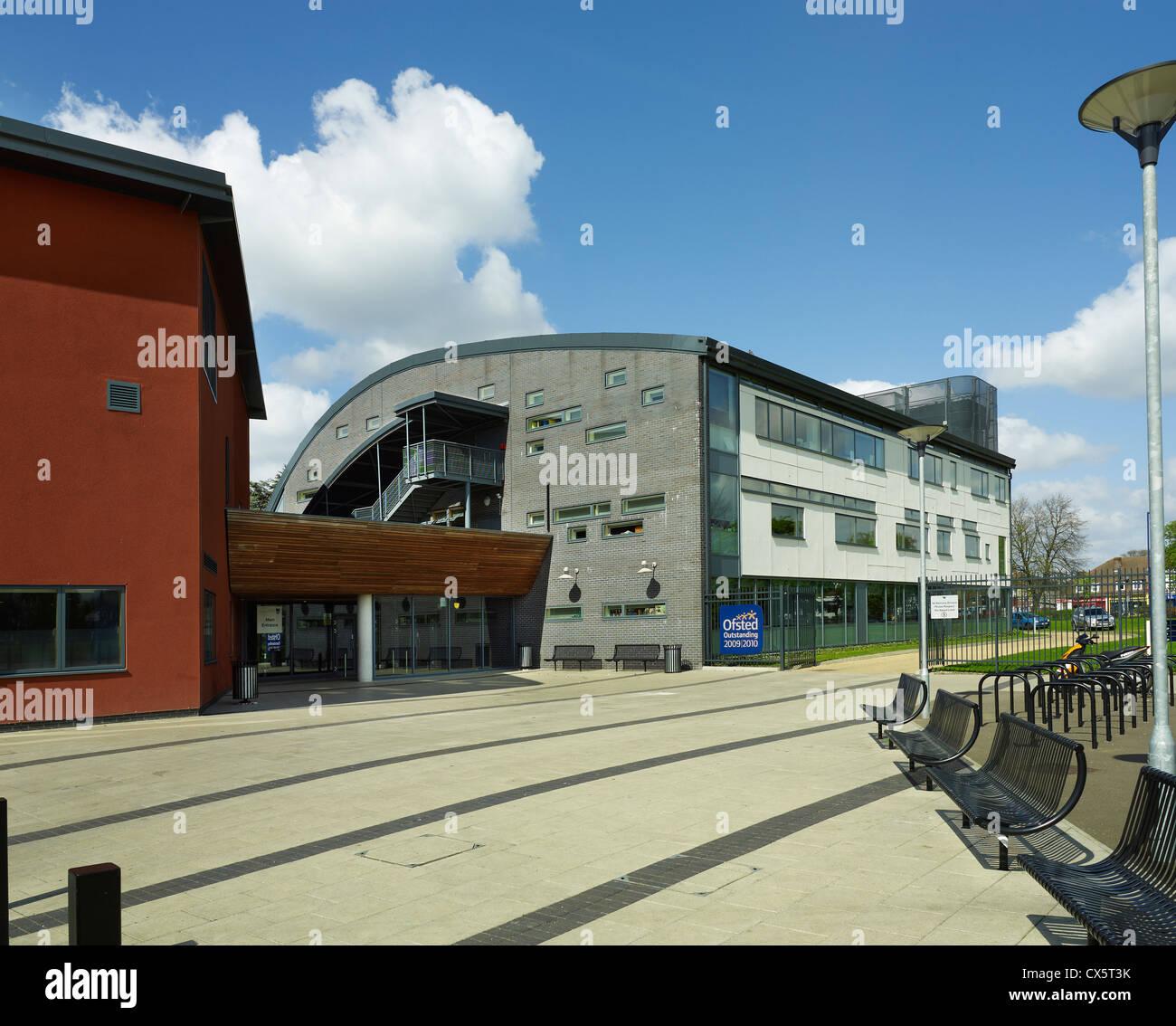 Dartford, Kent. Leigh-Technik-Akademie Stockbild
