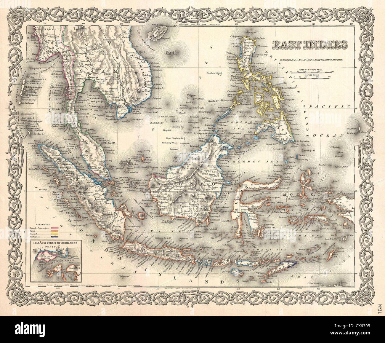 Map Singapore Stockfotos & Map Singapore Bilder - Alamy