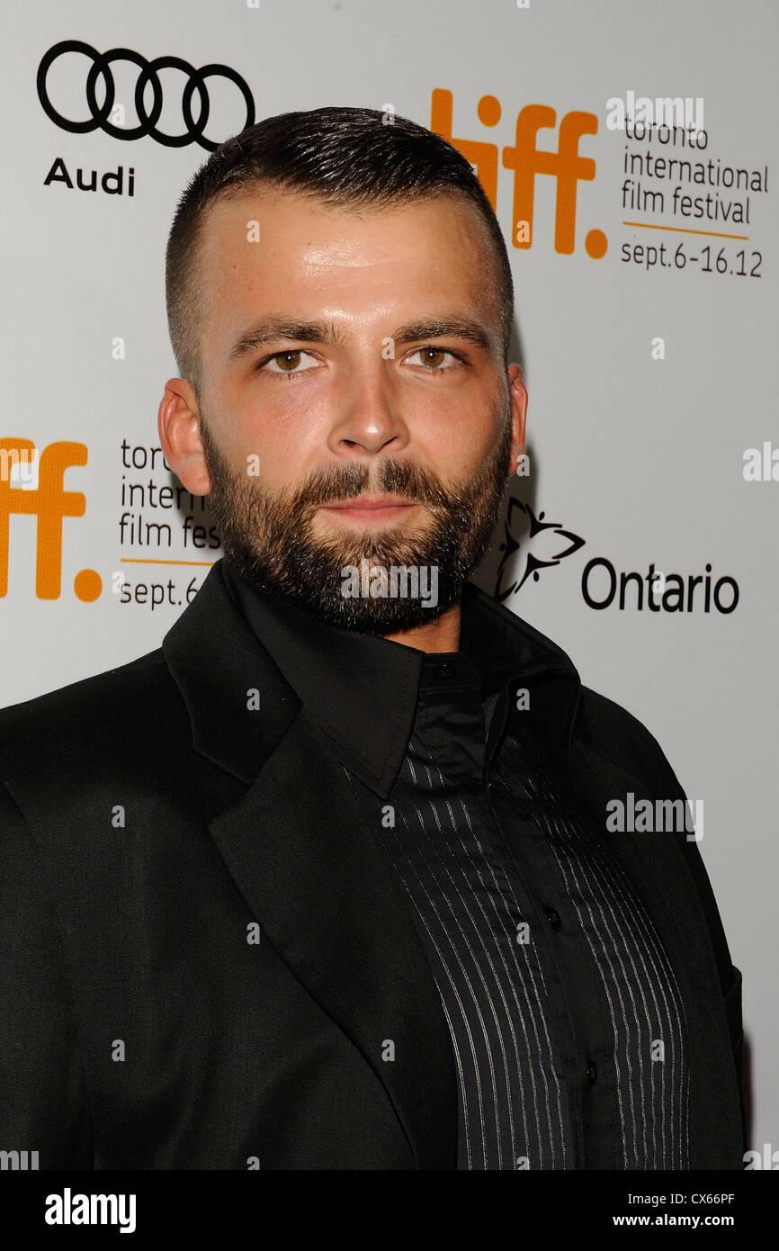 Adnan Haskovic bei 2012 TIFF Stockbild