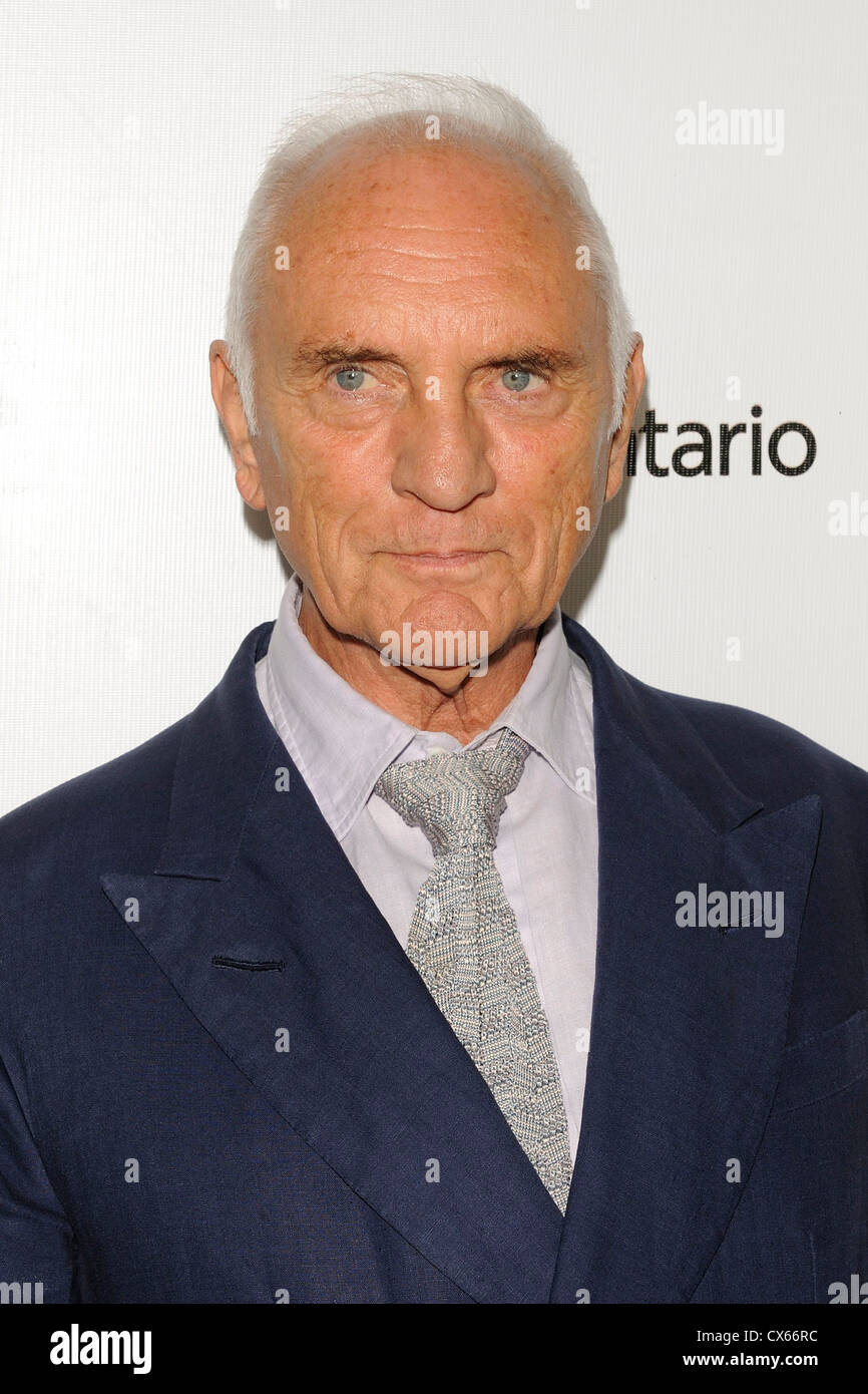 Terence Stamp in 2012 TIFF Stockfoto
