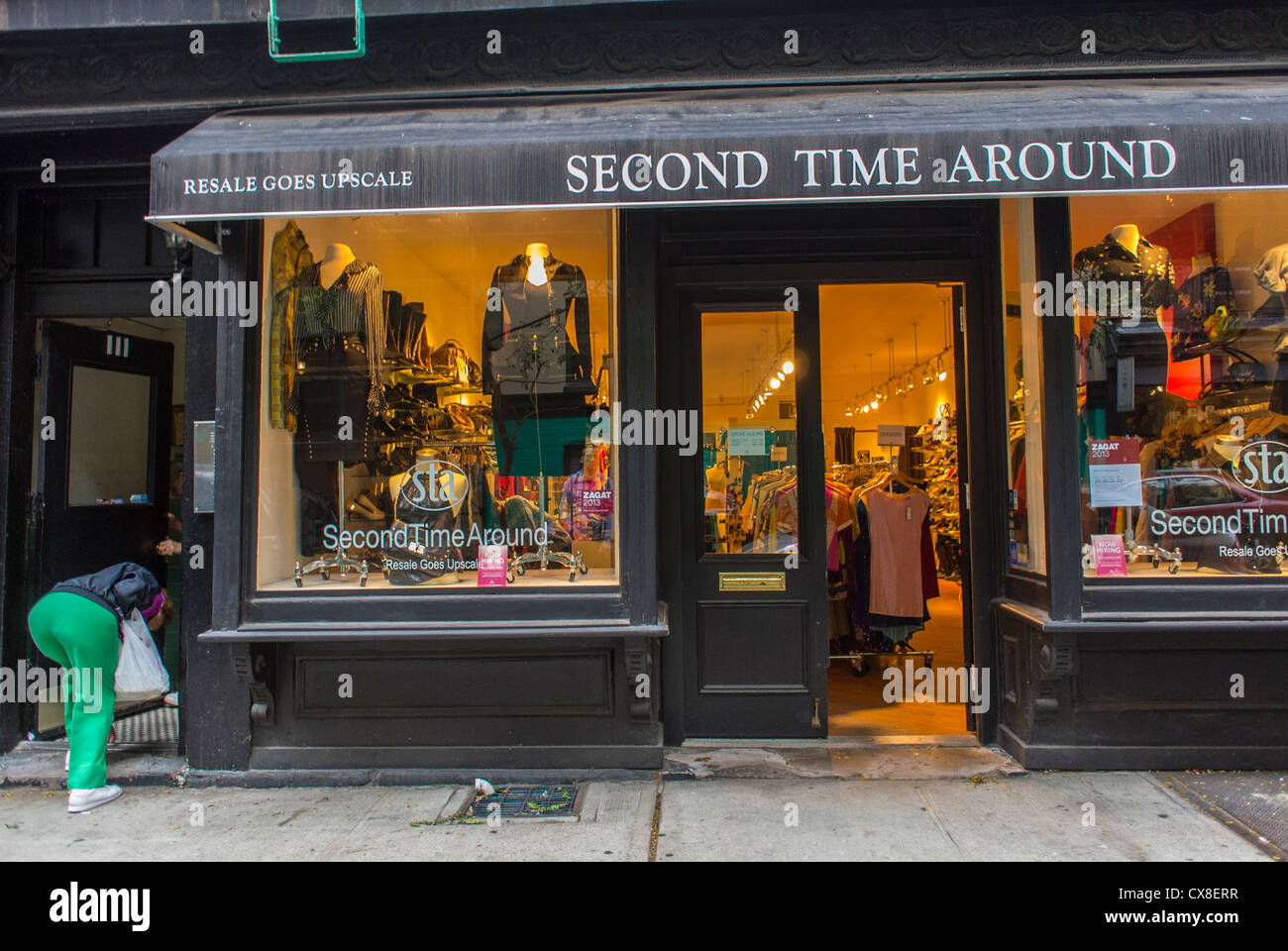 """new york, ny, usa, soho, vintage kleidung einkaufen, """"zweite"""