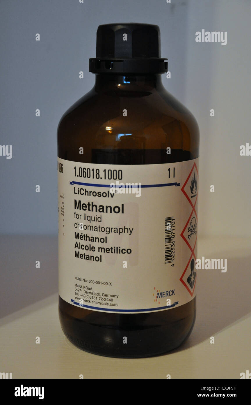methanol flasche stockfoto bild 50616877 alamy. Black Bedroom Furniture Sets. Home Design Ideas