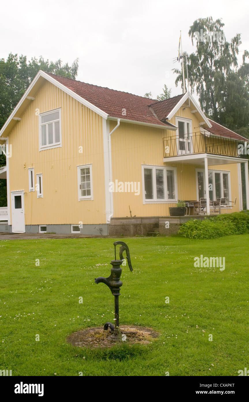Schwedisches Holzhaus schwedisches holzhaus häuser haus häuser holz schweden traditionell