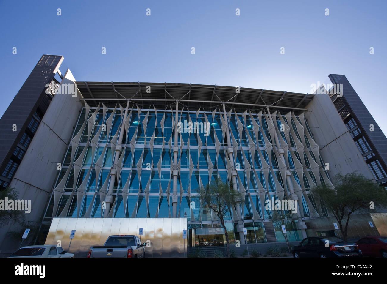 Öffentliche Bibliothek, Phoenix, Arizona, Vereinigte Staaten von Amerika, Nordamerika Stockbild