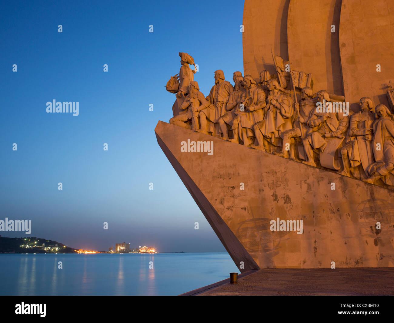 Denkmal für Entdeckungen, Belem, Lissabon, Portugal, Europa Stockbild