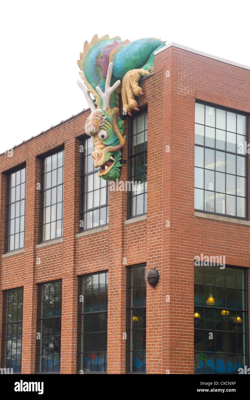 Providence Kindermuseum in Rhode Island Stockfoto