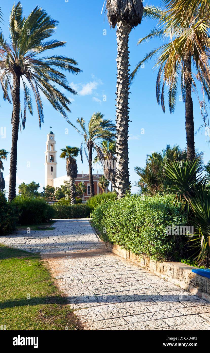 HaPisgah Gärten (der Gipfel-Garten), Jaffa, Tel Aviv, Israel, Naher Osten Stockbild