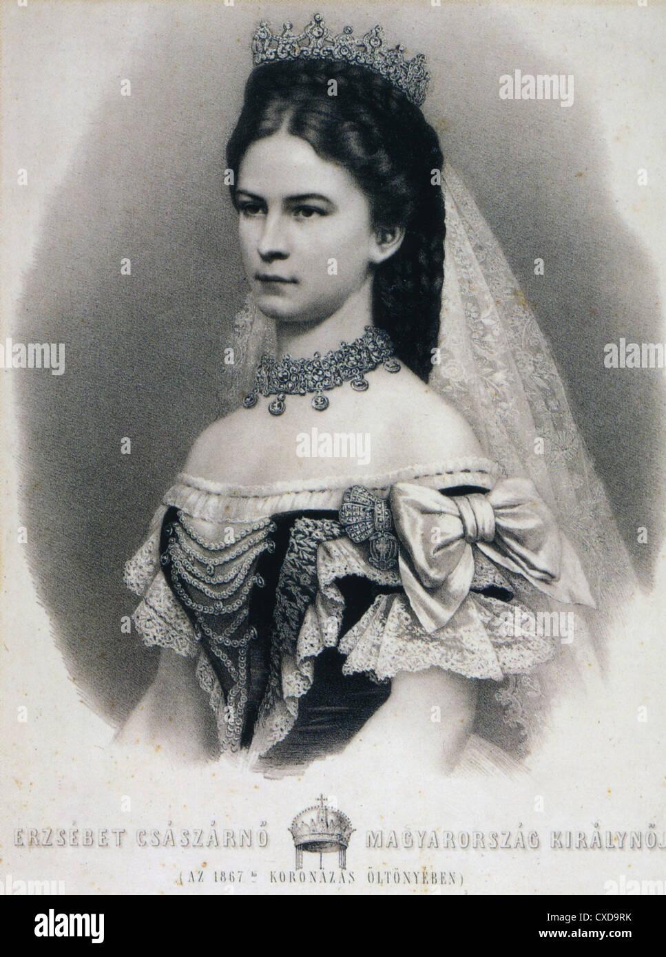 Kaiserin Elisabeth Von österreich 1837 1898 Auch Königin Von