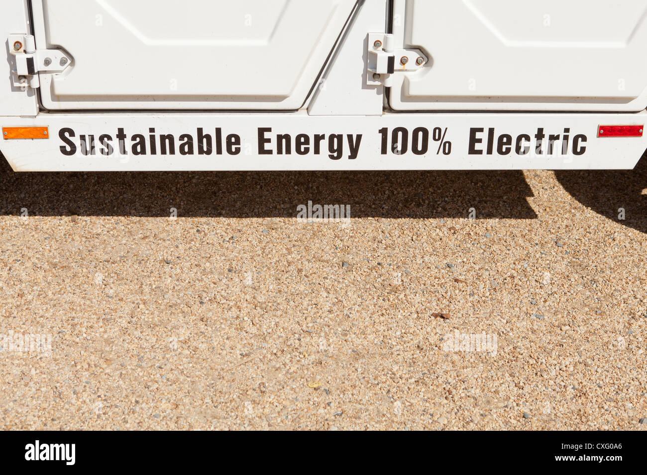 US Regierung Energieversorger Car - Washington, DC USA Stockbild