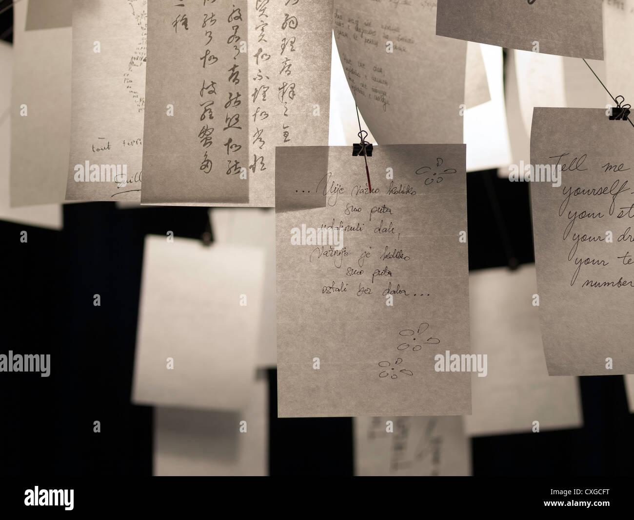 Ingo Maurer Zettel Z 5 Lampe Detail Stockfoto Bild 50762876 Alamy