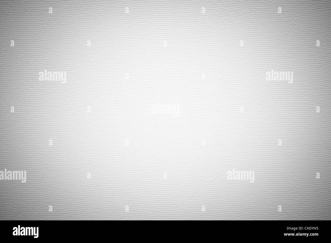 Weißes Papier Textur oder Hintergrund. Stockbild